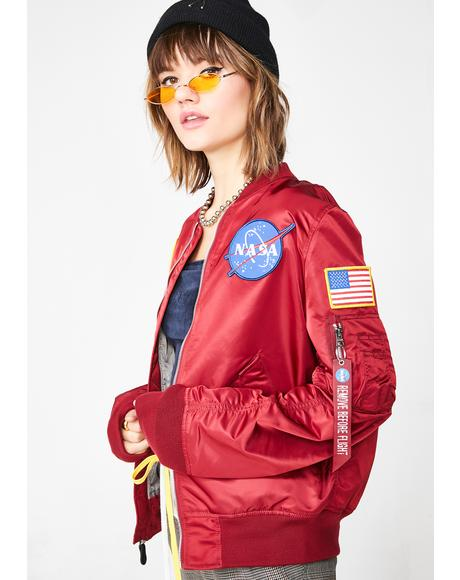 Lit L-2B Nasa Flight Jacket
