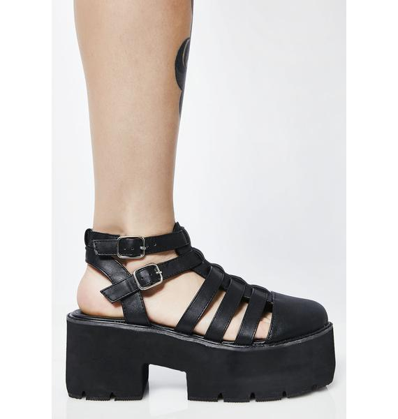 Stompin' Around Platform Sandals