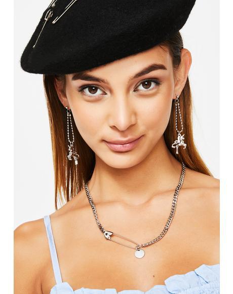 Mystical Masterpiece Unicorn Earrings