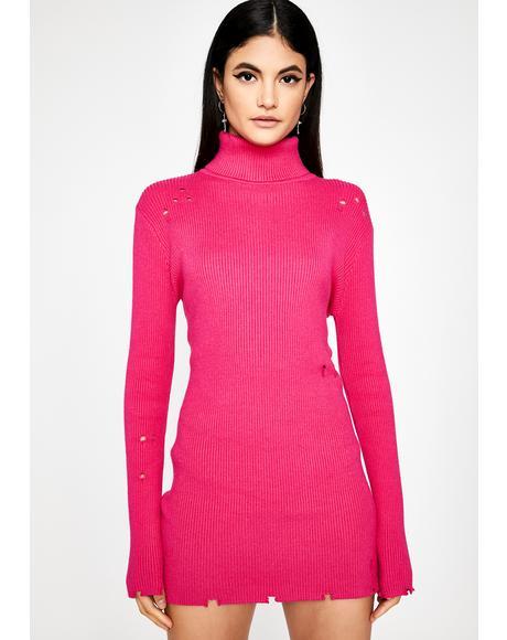 Sweet Boulevard Babe Sweater Dress