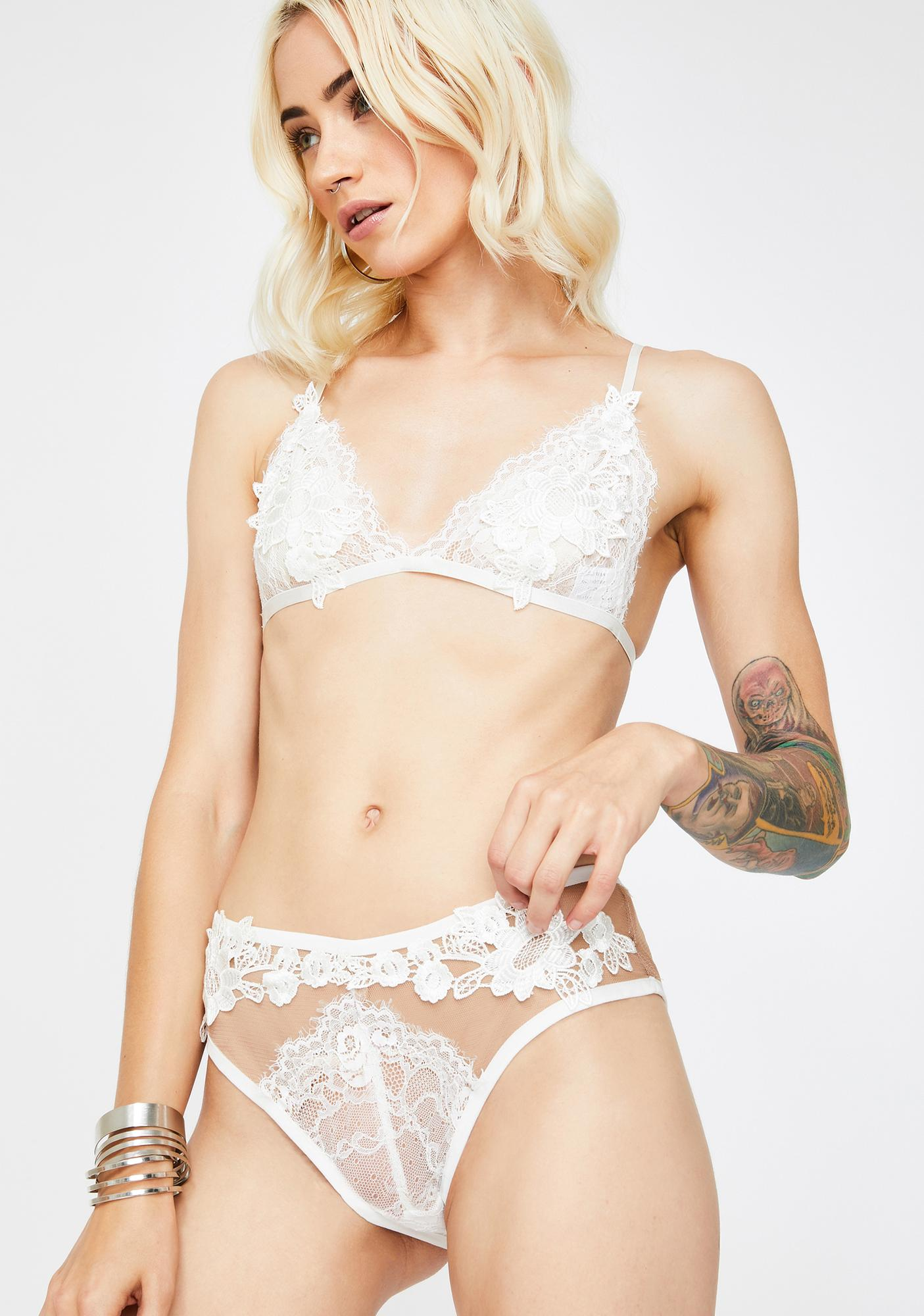 Kiss Of An Angel Lingerie Set