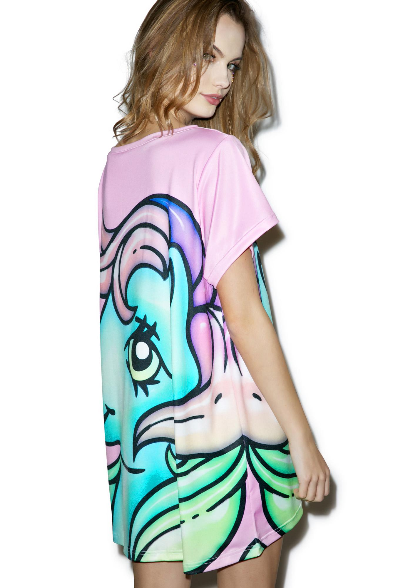 Alice Vandy My Little Pony Starflower Oversized Tee