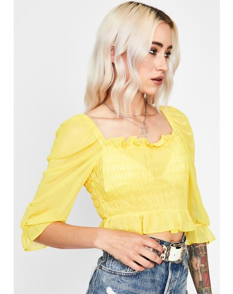Honey Free Your Soul Crop Top