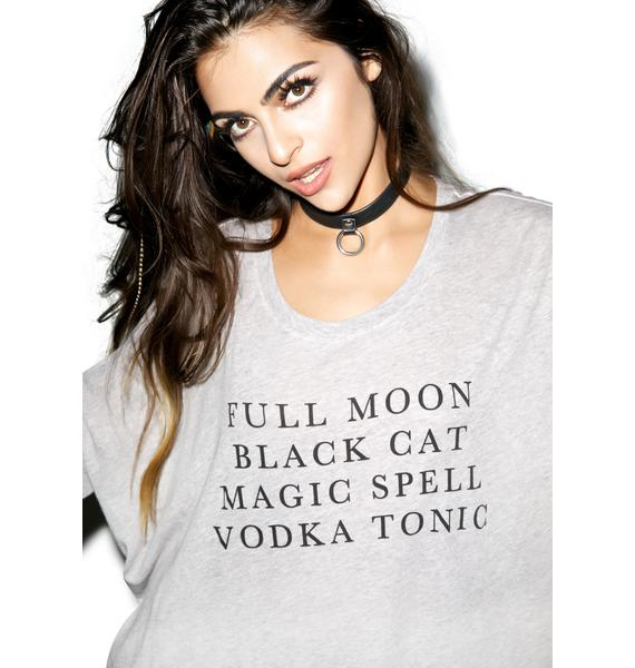 Wildfox Couture Halloween List Sunny Morning Tee