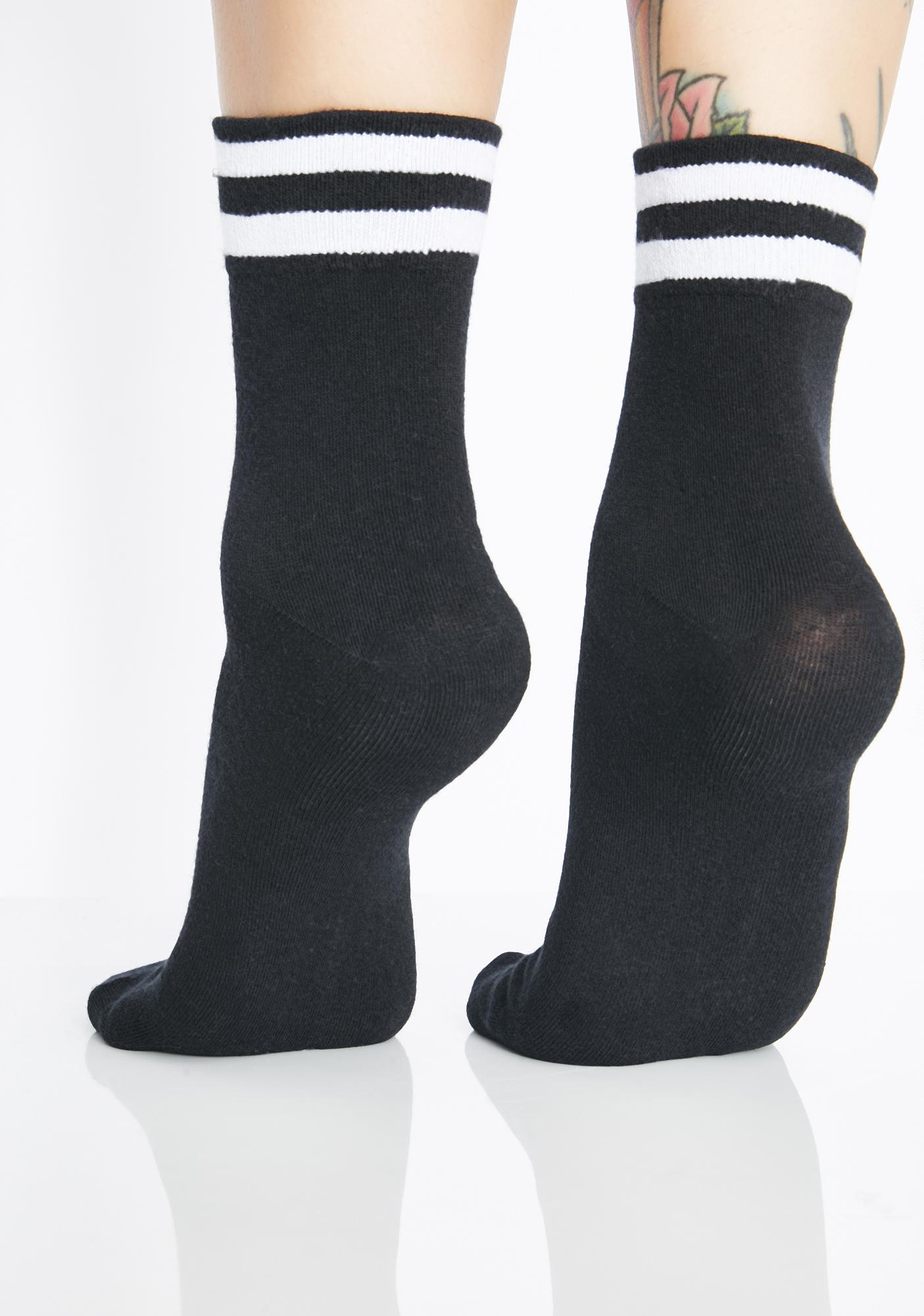 Dark Sport Stripes Socks