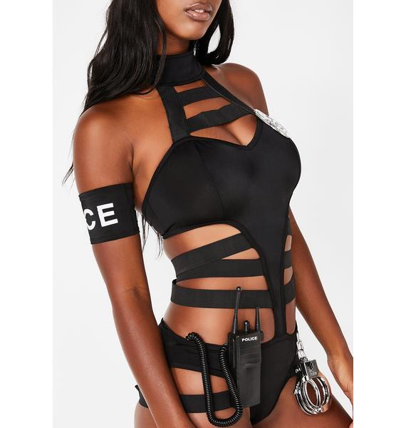 Mrs Officer Cop Costume