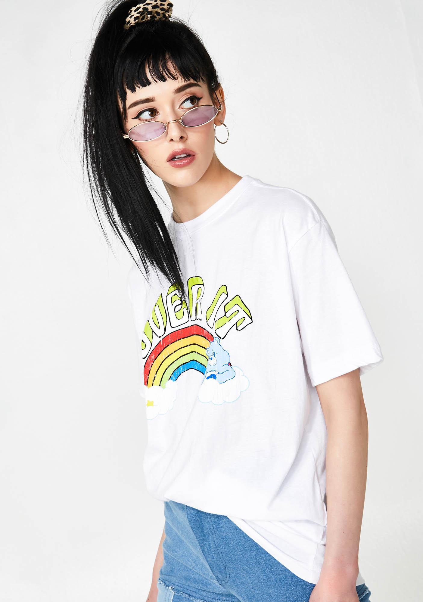 Not Interested Care Bear Tee