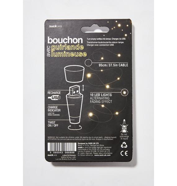 Rechargeable Bottle String Light