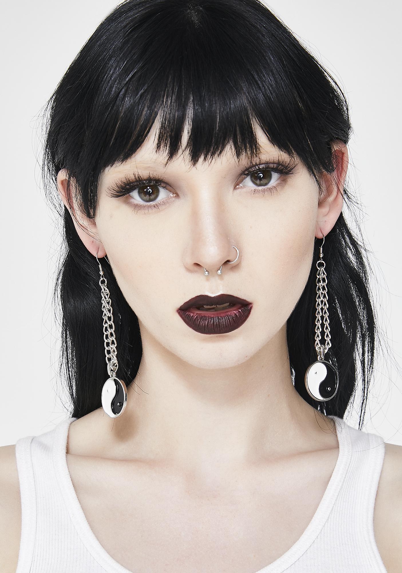 Good Or Bad Drop Earrings
