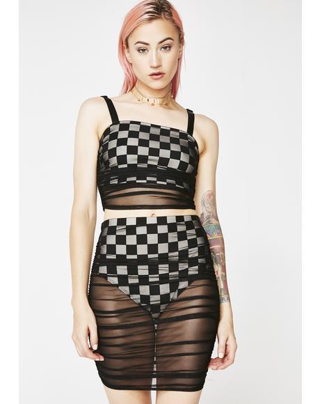 My Vice Checkered Set