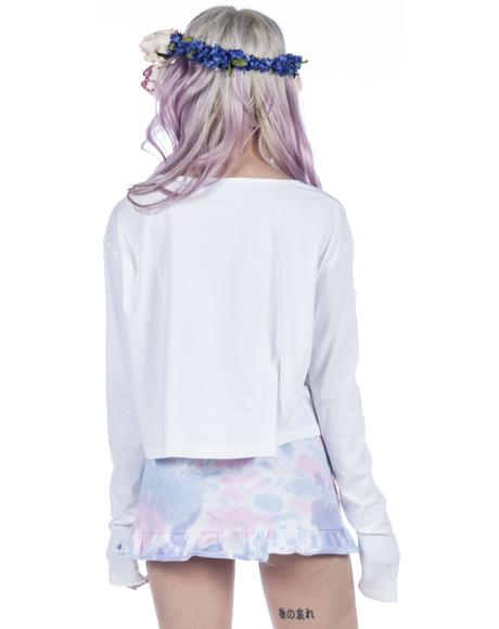 Space Needed Cropped Tee