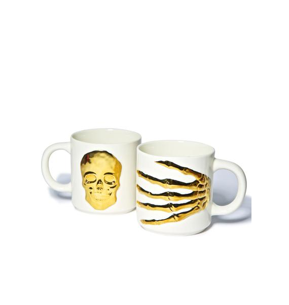 Oracles Skeleton Hand Mug