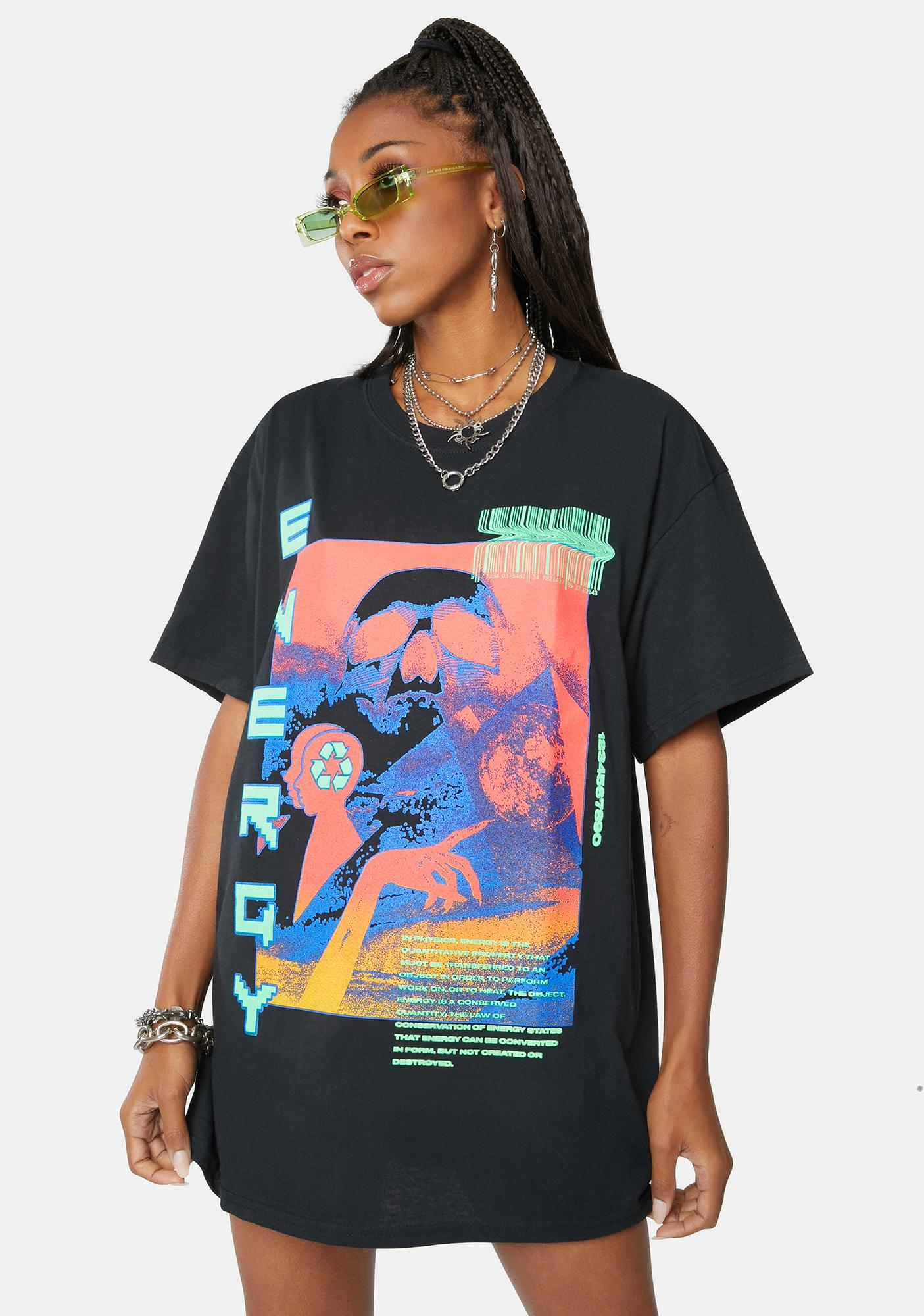 Partee Supplies Energy Graphic Tee