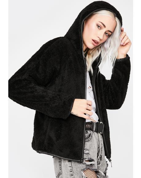 Talk About It Hooded Jacket