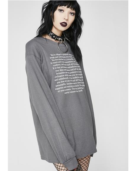 Torture Garden Long Sleeve Tee