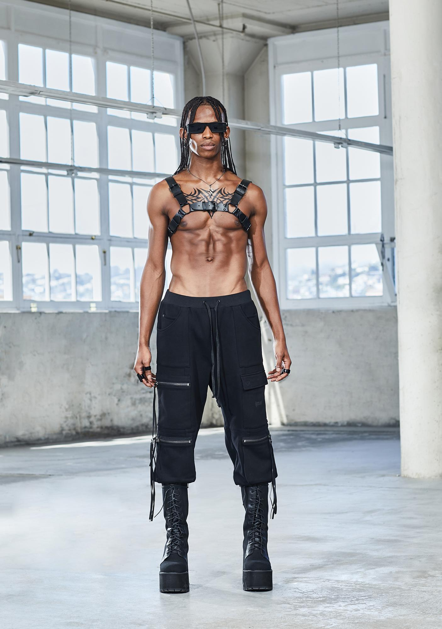Fallen Gods Vegan Leather Harness