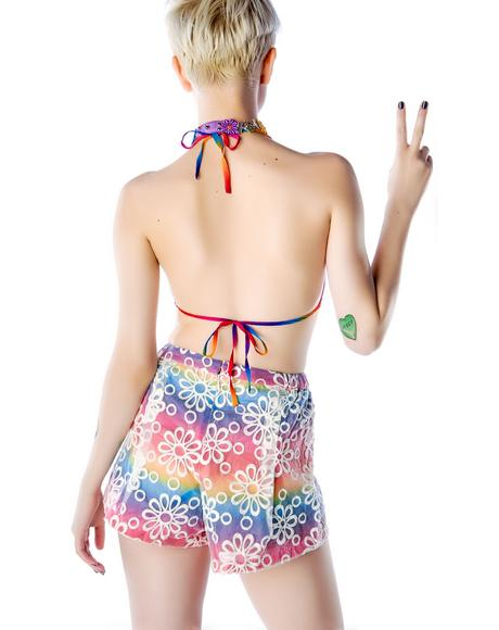 Dazey Bikini & Shorts Set