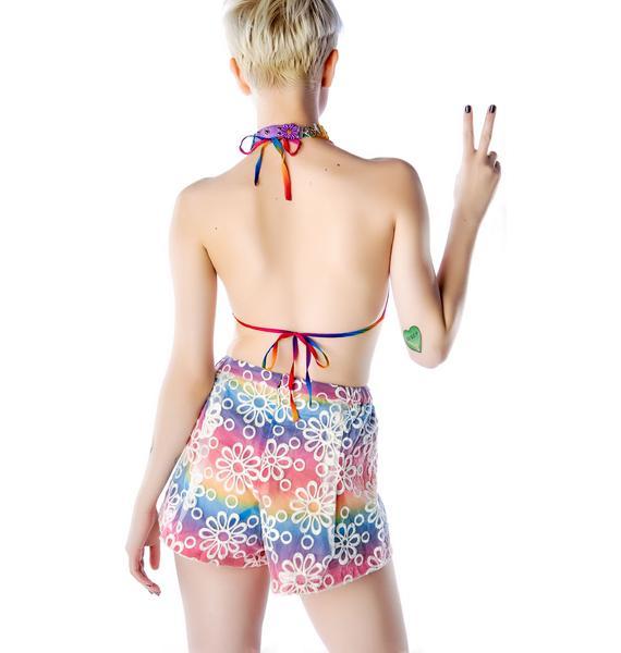 UNIF Dazey Bikini & Shorts Set