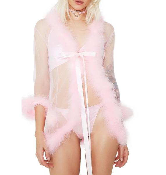 Dream Land Feather Robe