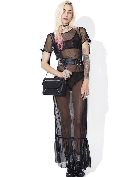 Body Language Sheer Maxi Dress | Dolls Kill