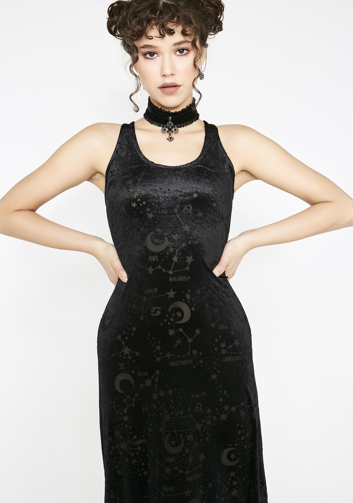 Killstar Lyra Maxi Dress