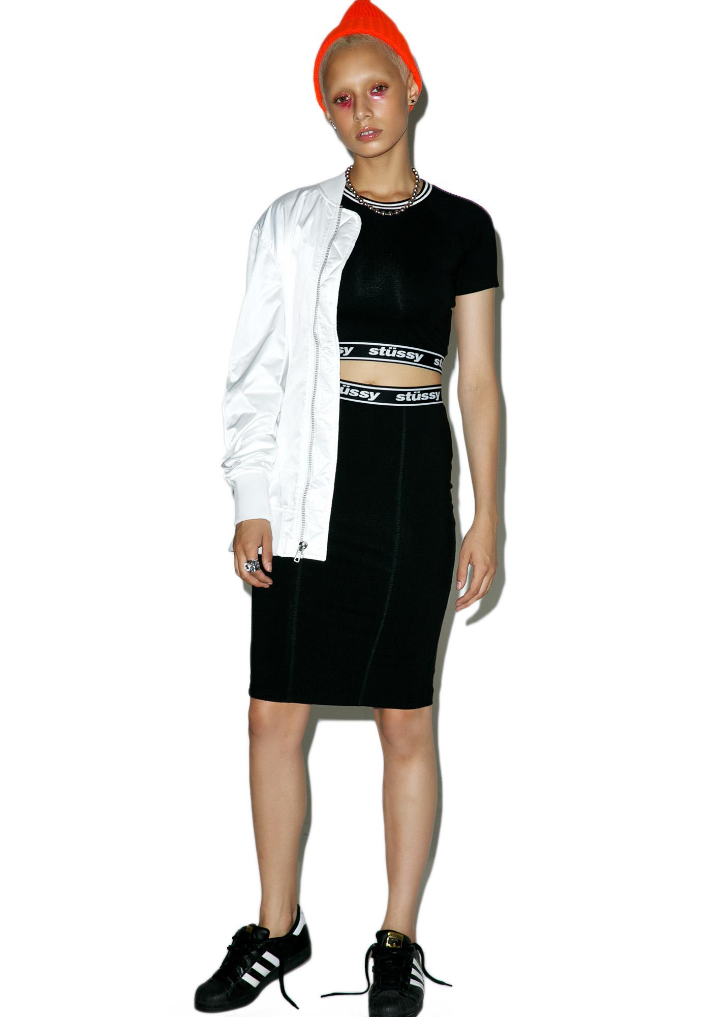 Stussy Challenge Pencil Skirt