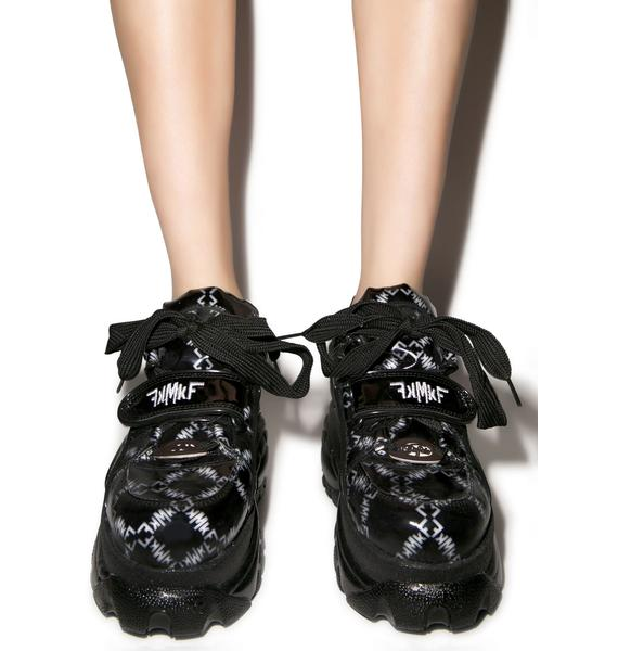 Maria ke Fisherman X Buffalo Platform Sneakers