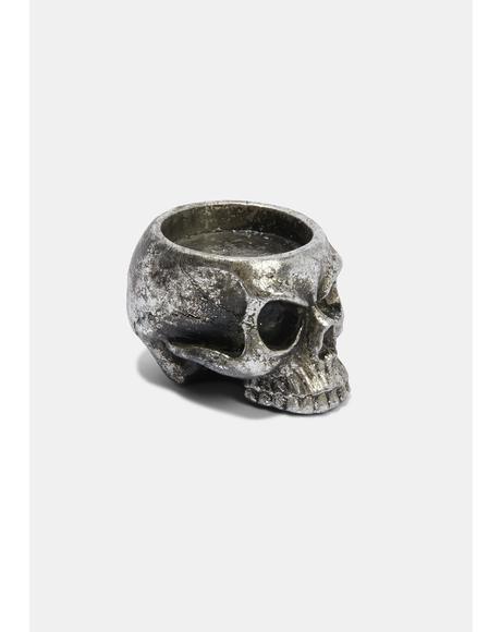 Skull T-Light Holder