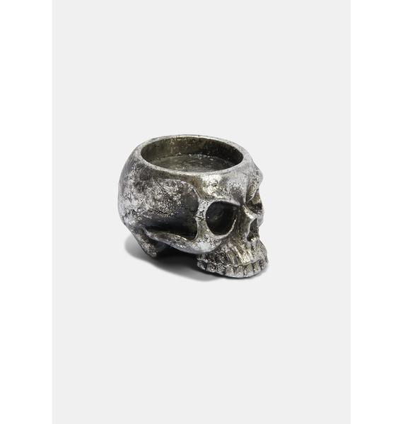Alchemy England Skull T-Light Holder