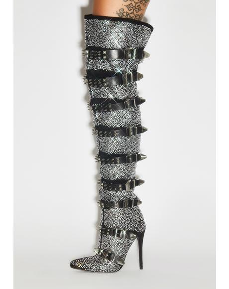 Rachelle Thigh High Boots