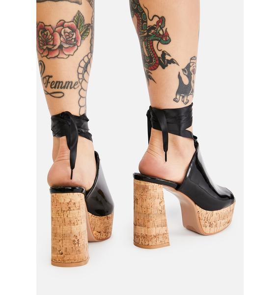 Lamoda Shoe Queen Platform Clogs