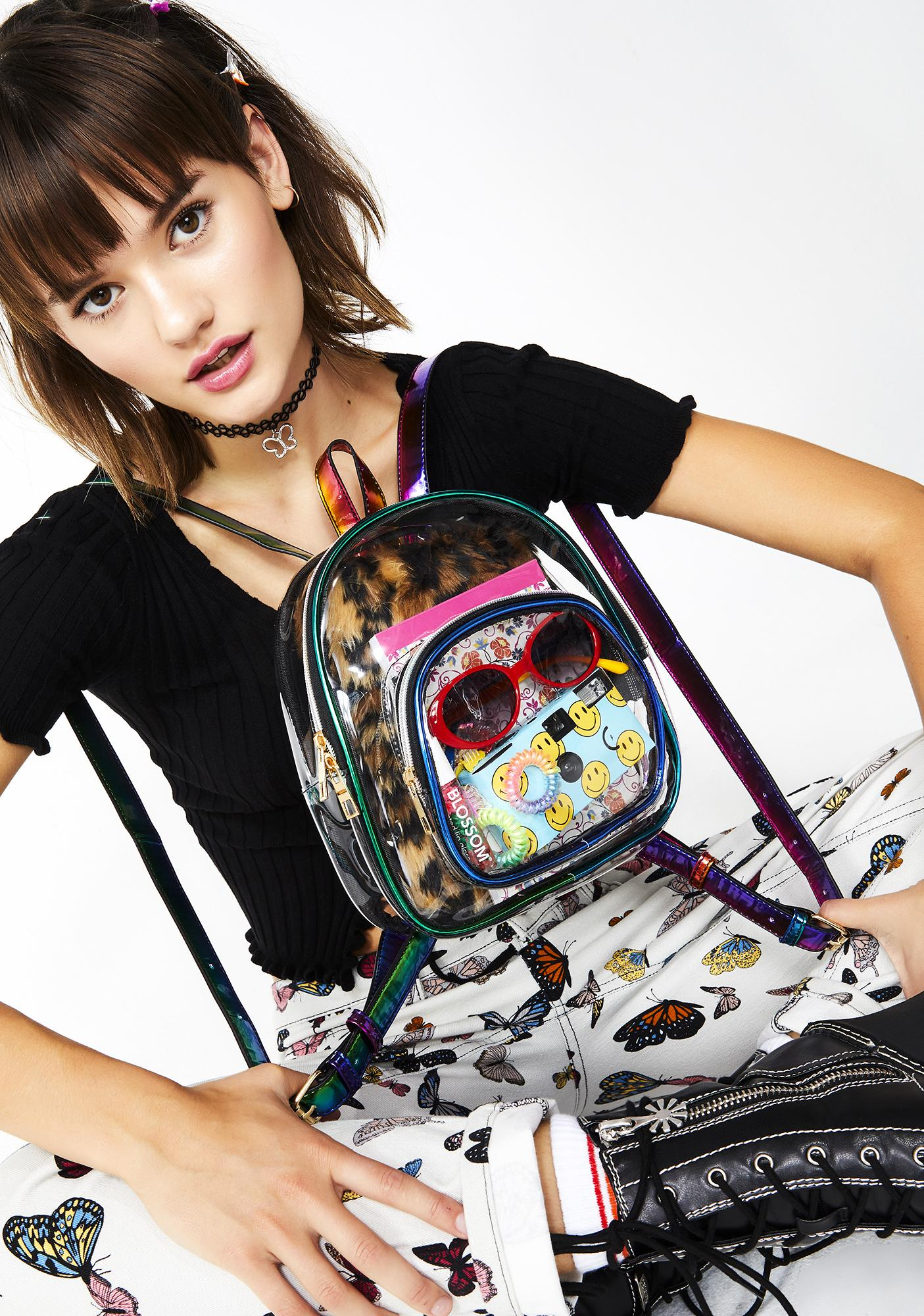 Electric Lightz Clear Backpack