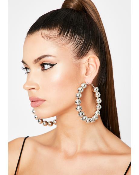 Mama Said Hoop Earrings