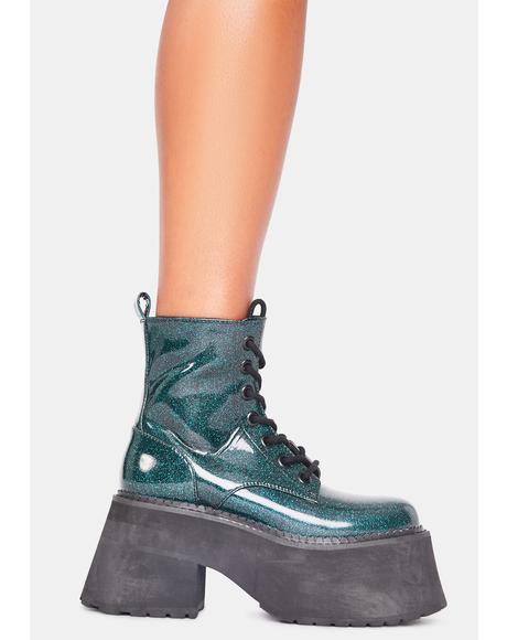 Absolute Alakazam Glitter Boots