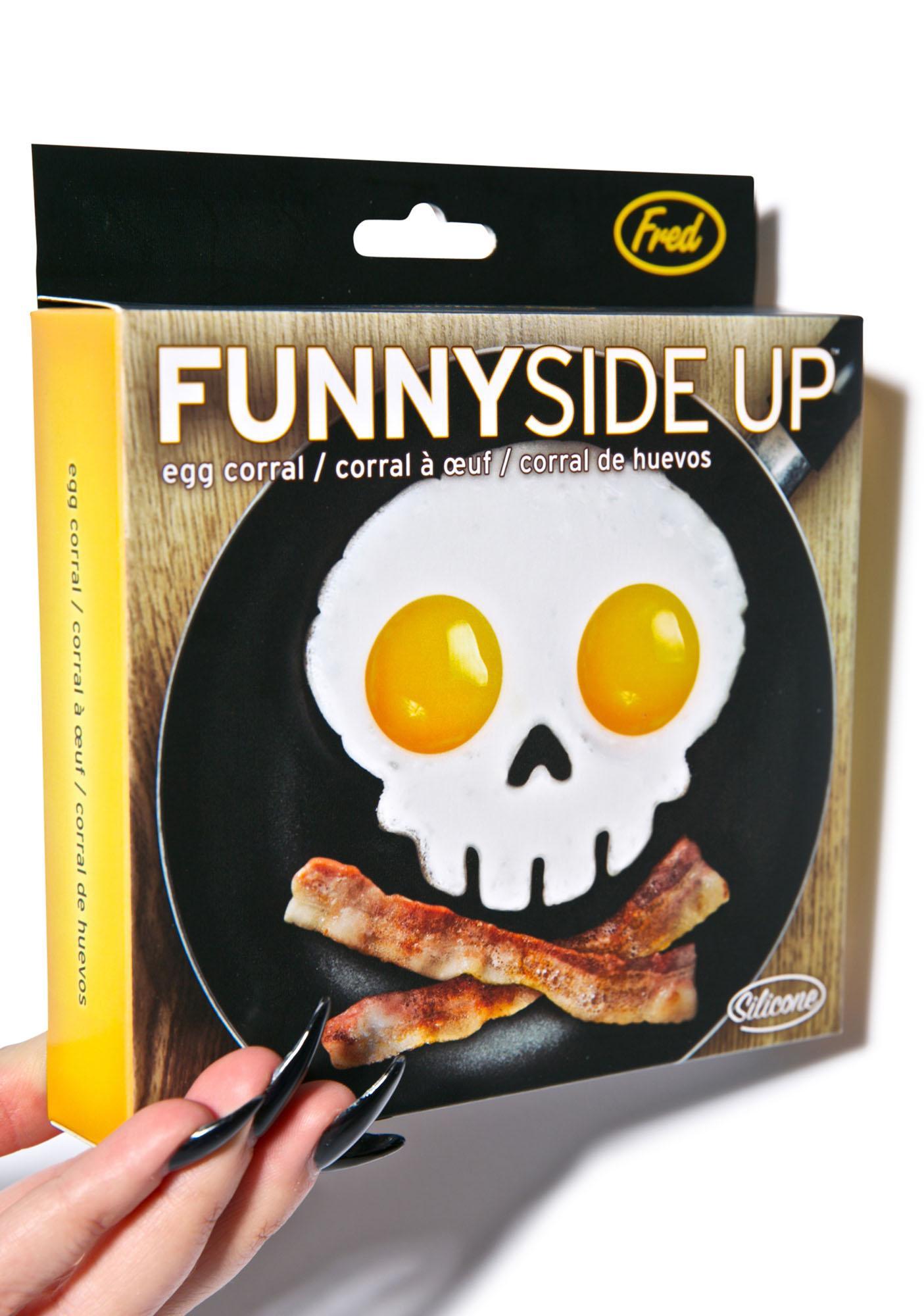 Funny Side Up Skull Corral
