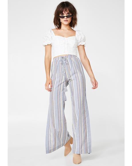 Laid Back Striped Pants