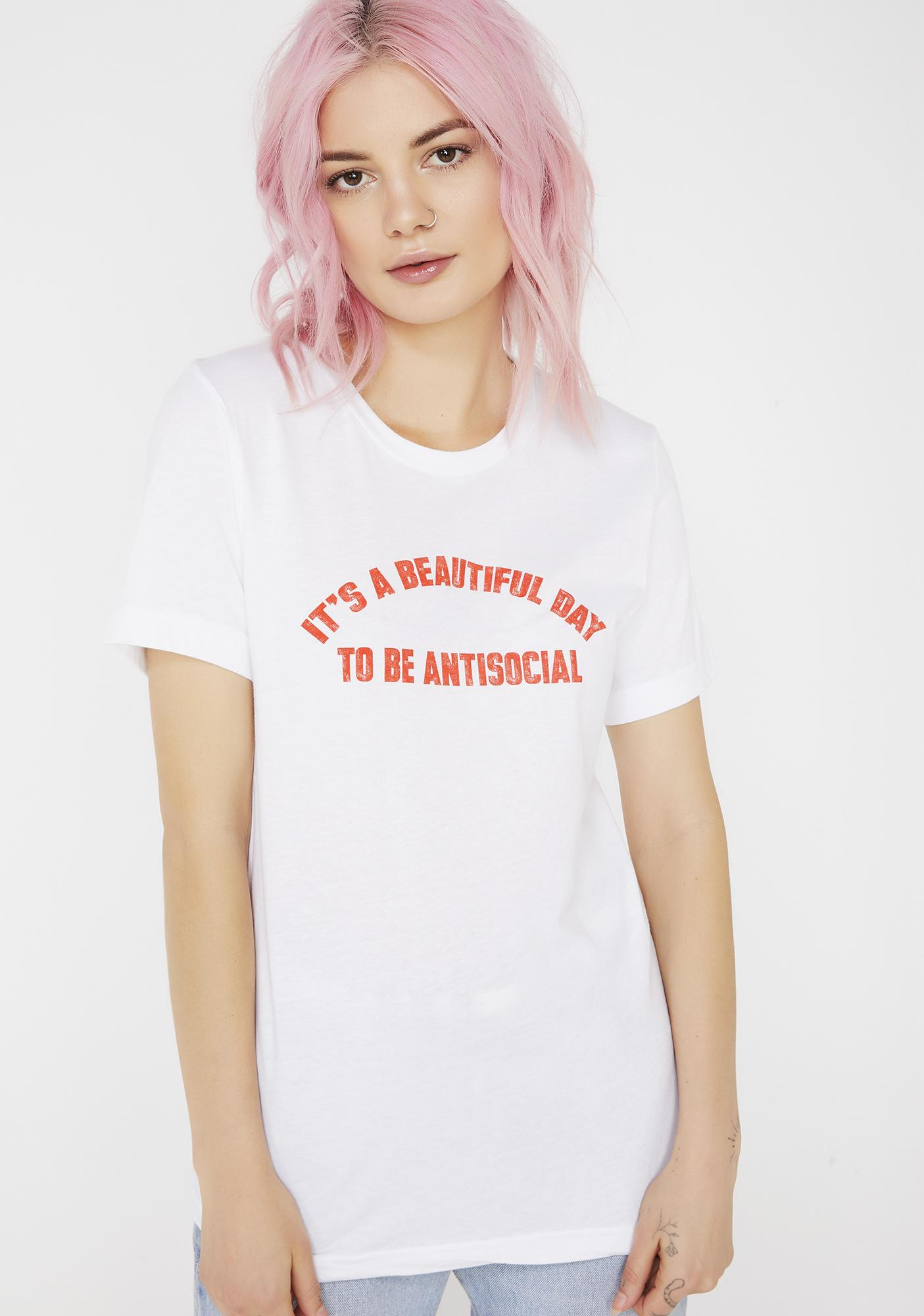 Top Knot Goods Antisocial Tee