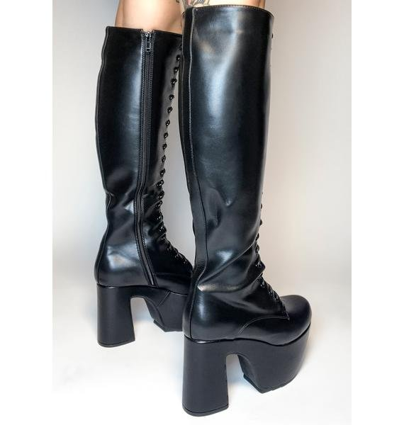 Lamoda What A Dream Knee High Boots
