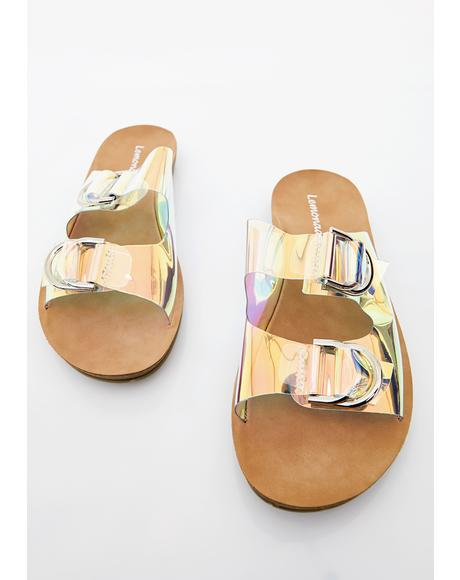 Sand Surfer Buckle Slides
