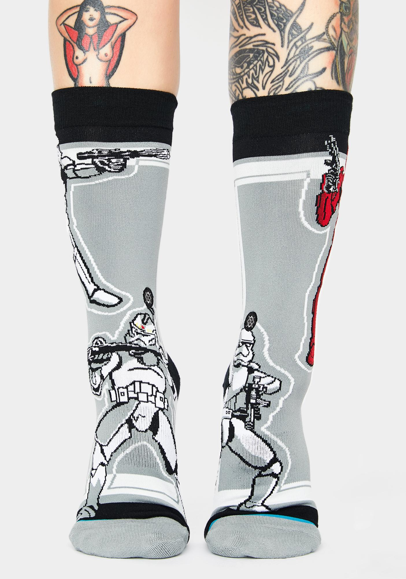 Stance Star Wars Storm Troopers Crew Socks