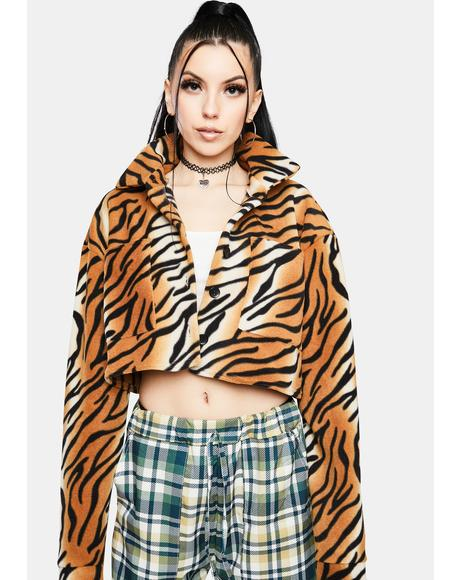 Tiger Fleece Jacket