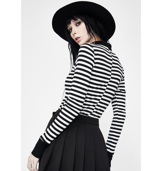 Punk Rave Undercover Plans Pleated Skirt