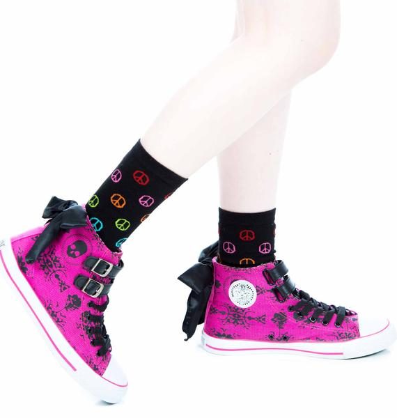 Iron Fist Lacey Days Hi Top Sneakers