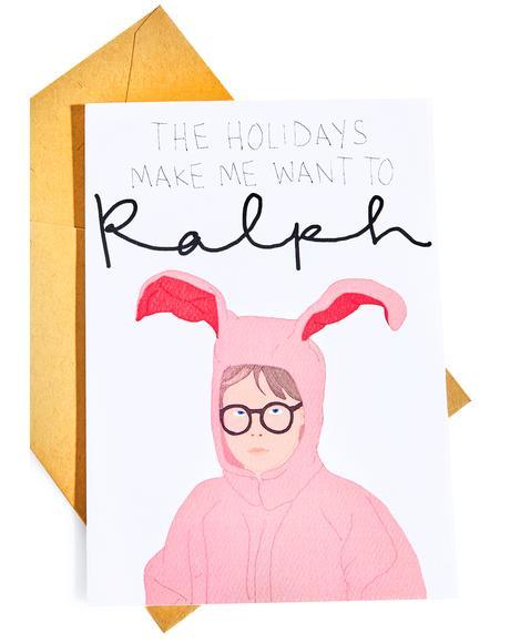 Ralph Christmas Card