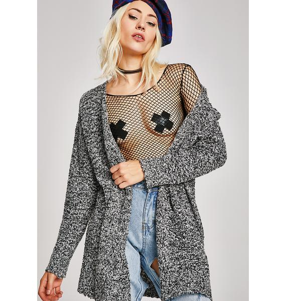 Mixed Signals Knit Cardigan