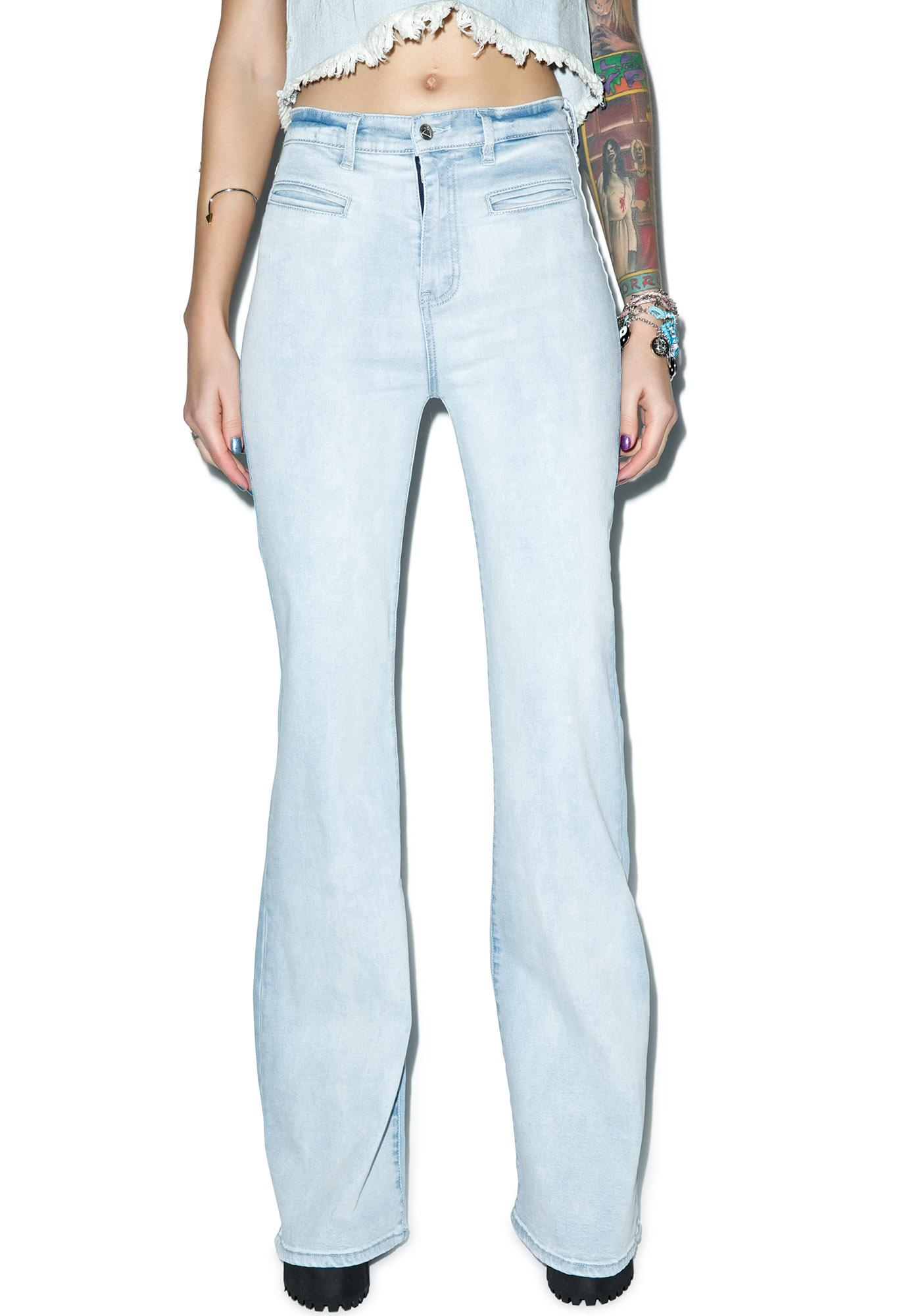 Somedays Lovin Daze Stretch Denim Flares