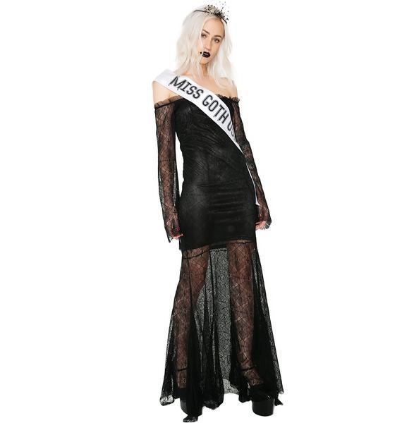 Dolls Kill Goth Queen Costume