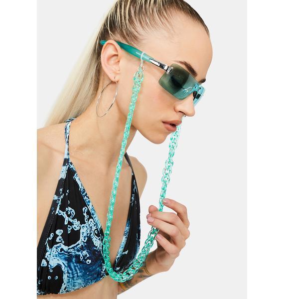 Aqua Candy Cascade Sunglasses Chain