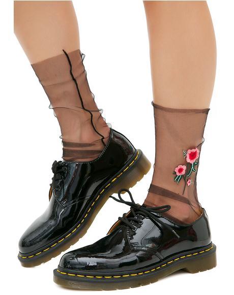 Lil' Buds Sheer Socks