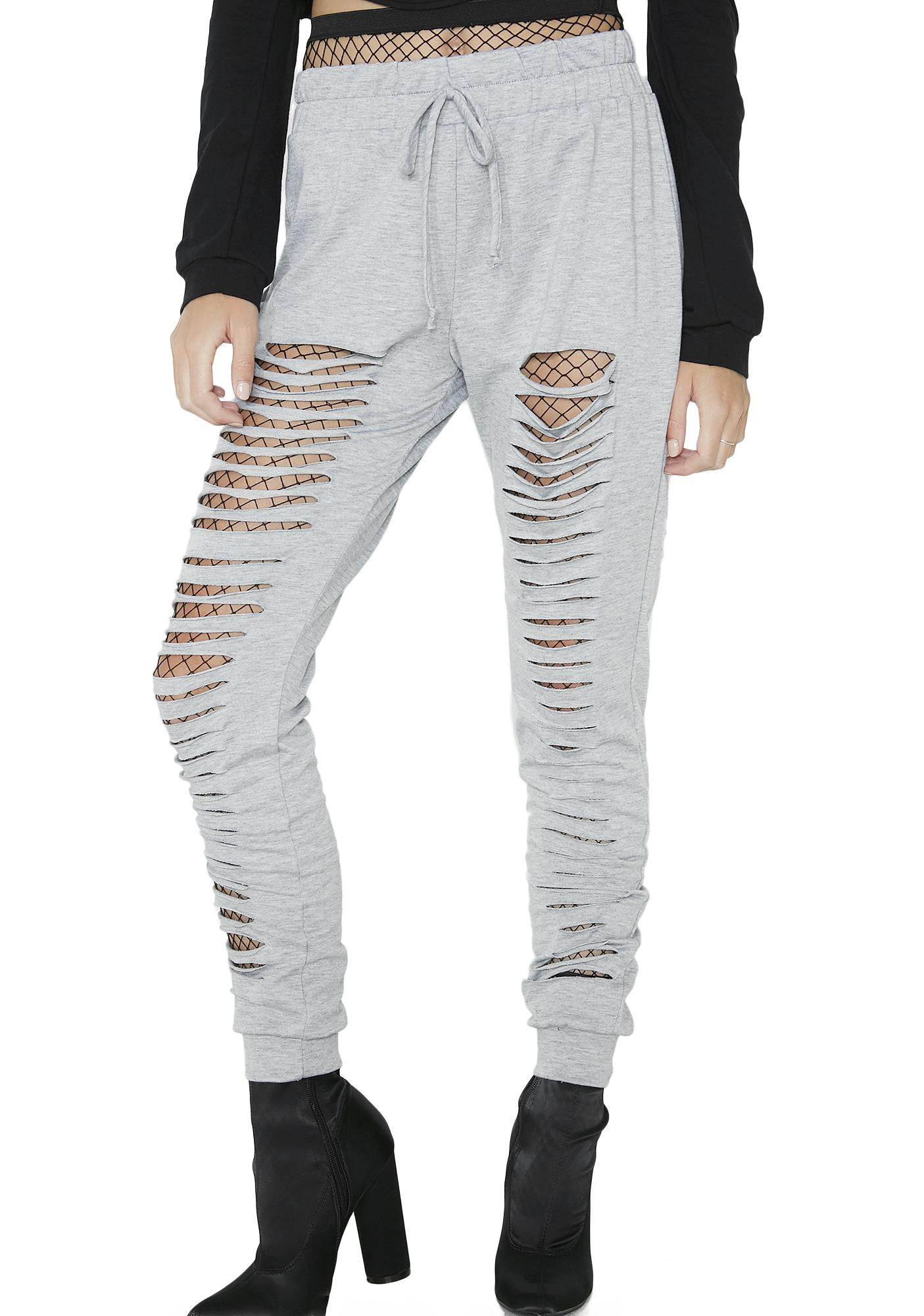 So Cutthroat Shredded Sweatpants